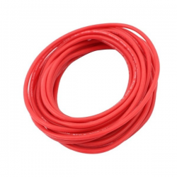 CABLE SILICONA 2.5MM RO.250 GR.