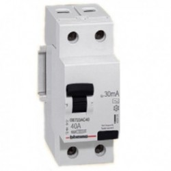 BT/PROTECTOR DIFERENCIAL 2x40A 30mA GE723AC40